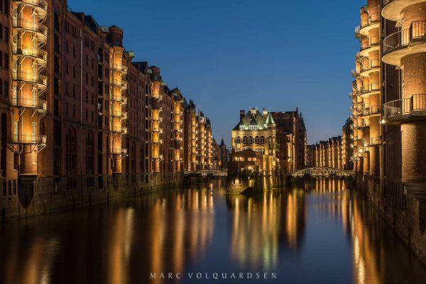 Speicherstadt and Wasserschlösschen
