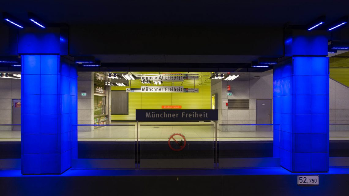 U-Bahnhof Münchner Freiheit (IV)