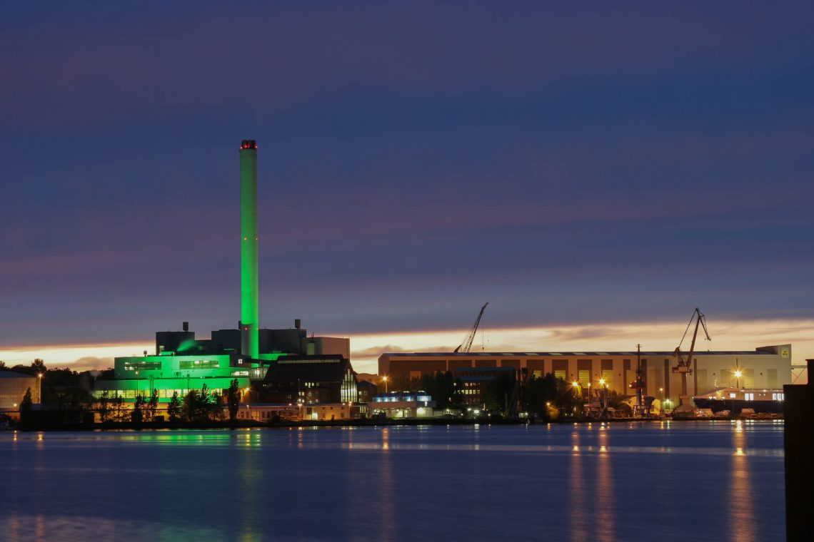 Heat and power plant Flensburg (II)
