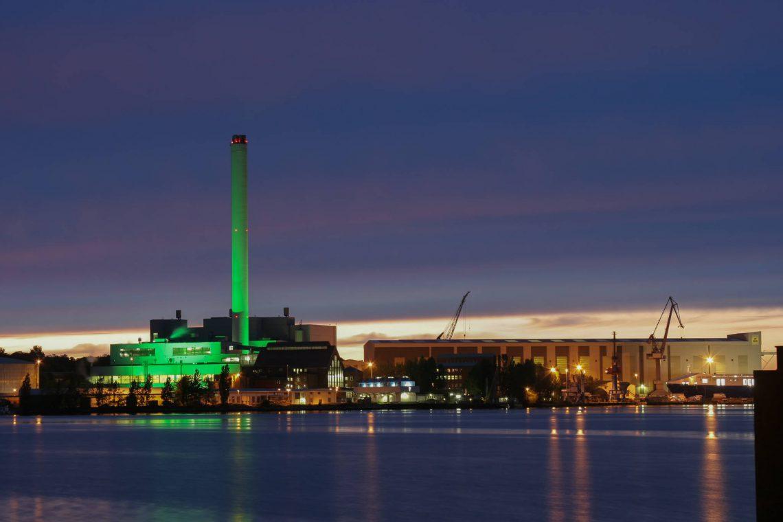 Heizkraftwerk Flensburg (II)