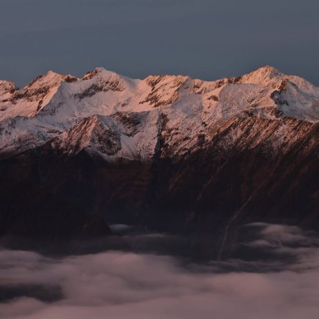 Alps summits