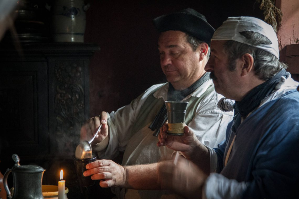 Living History 1813 - Drinking Punch