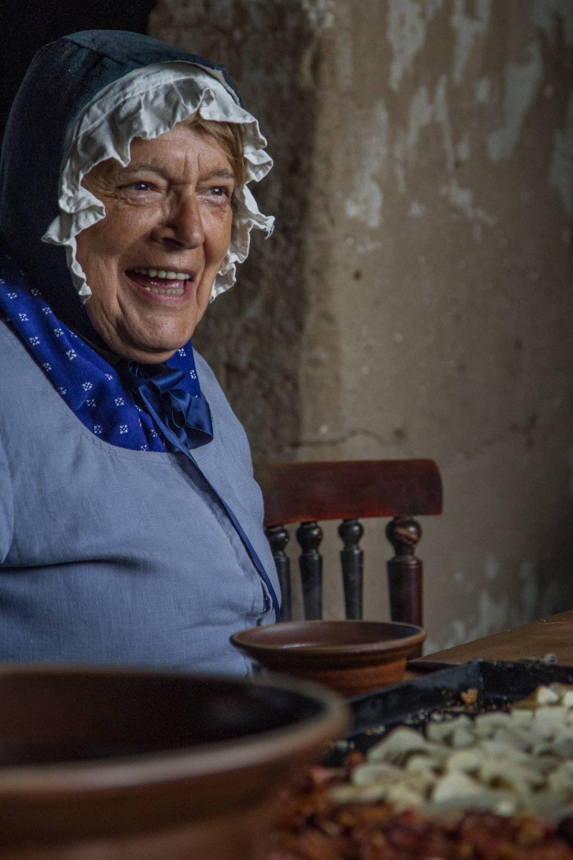 Living History 1813 - The old peasant woman