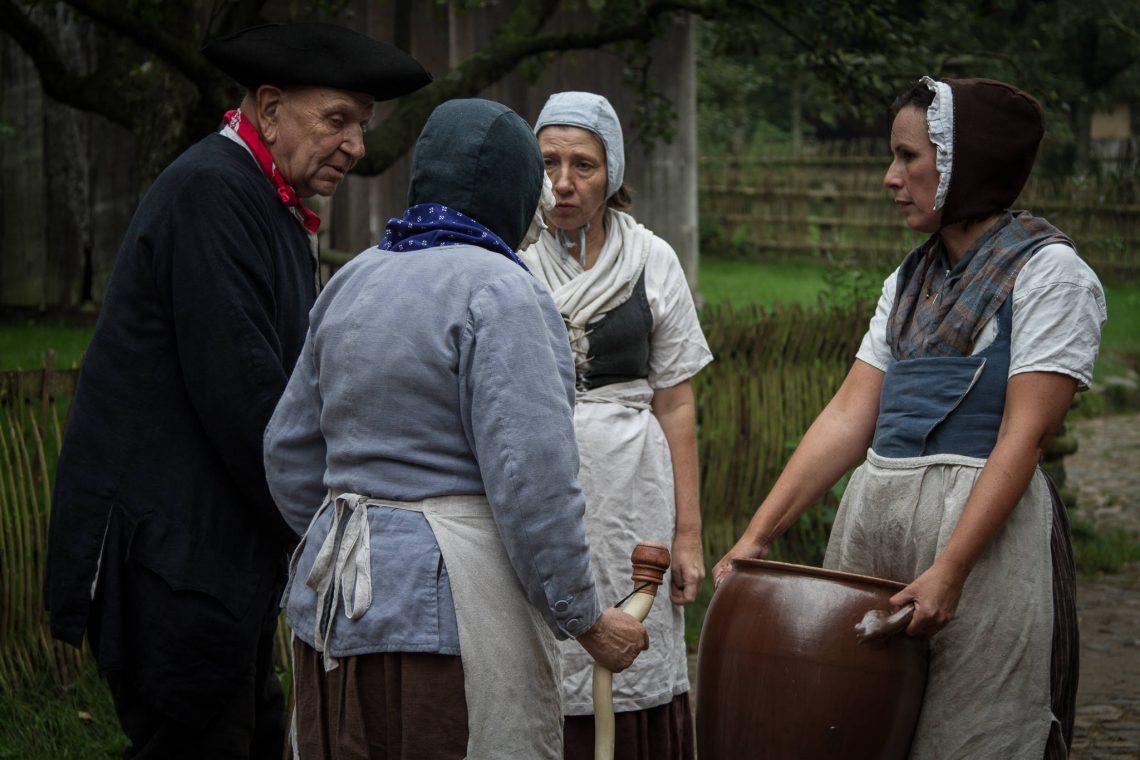 Living History 1813 - Village talks