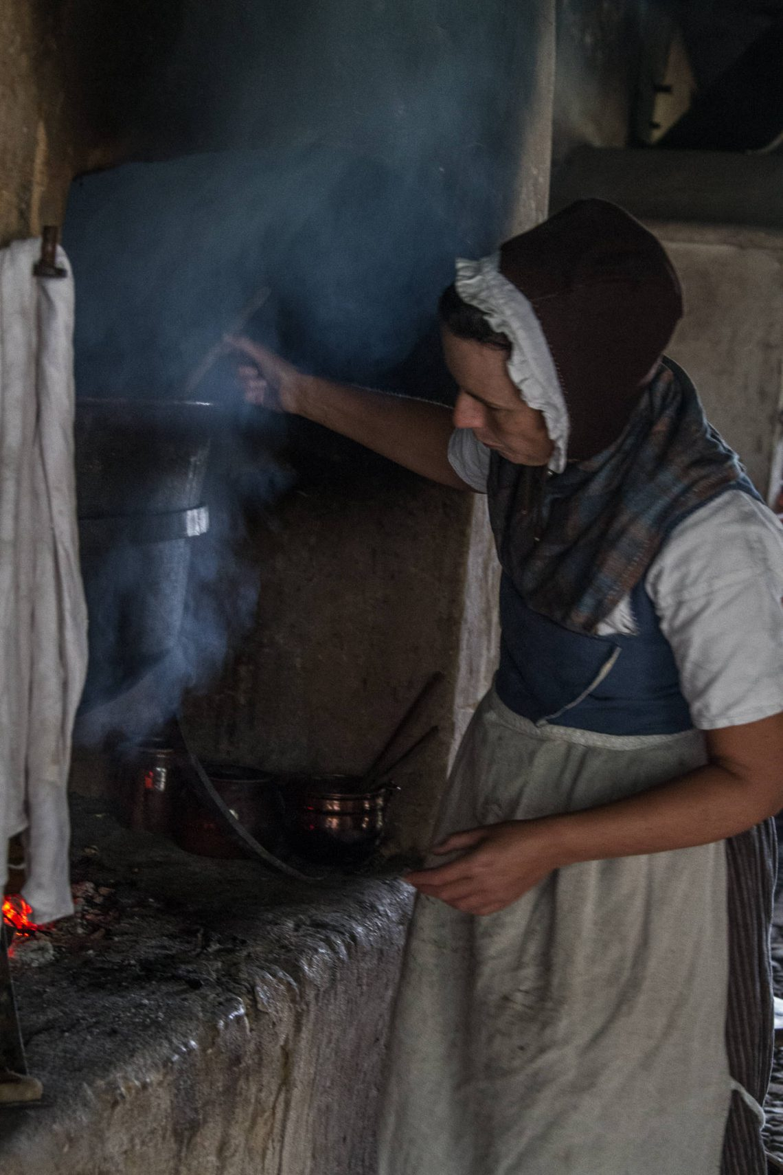 Living History 1813 - Cooking clothes