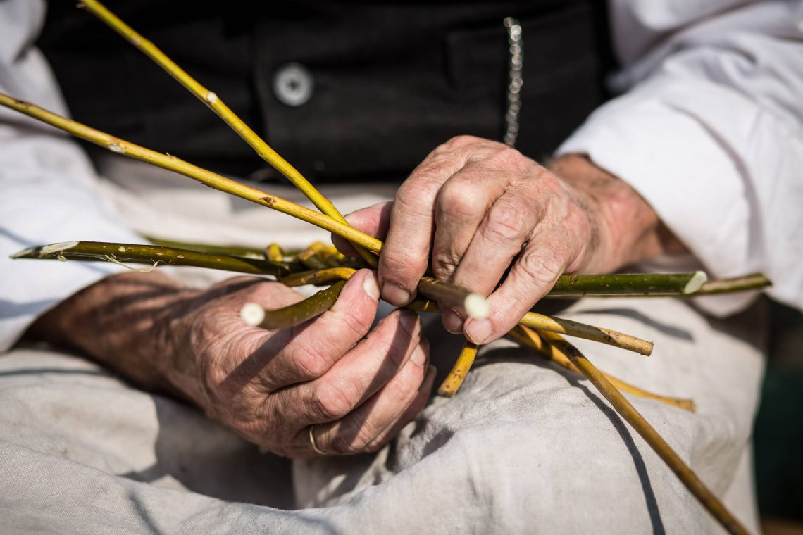 Living History 1914 - Fisherman's hands