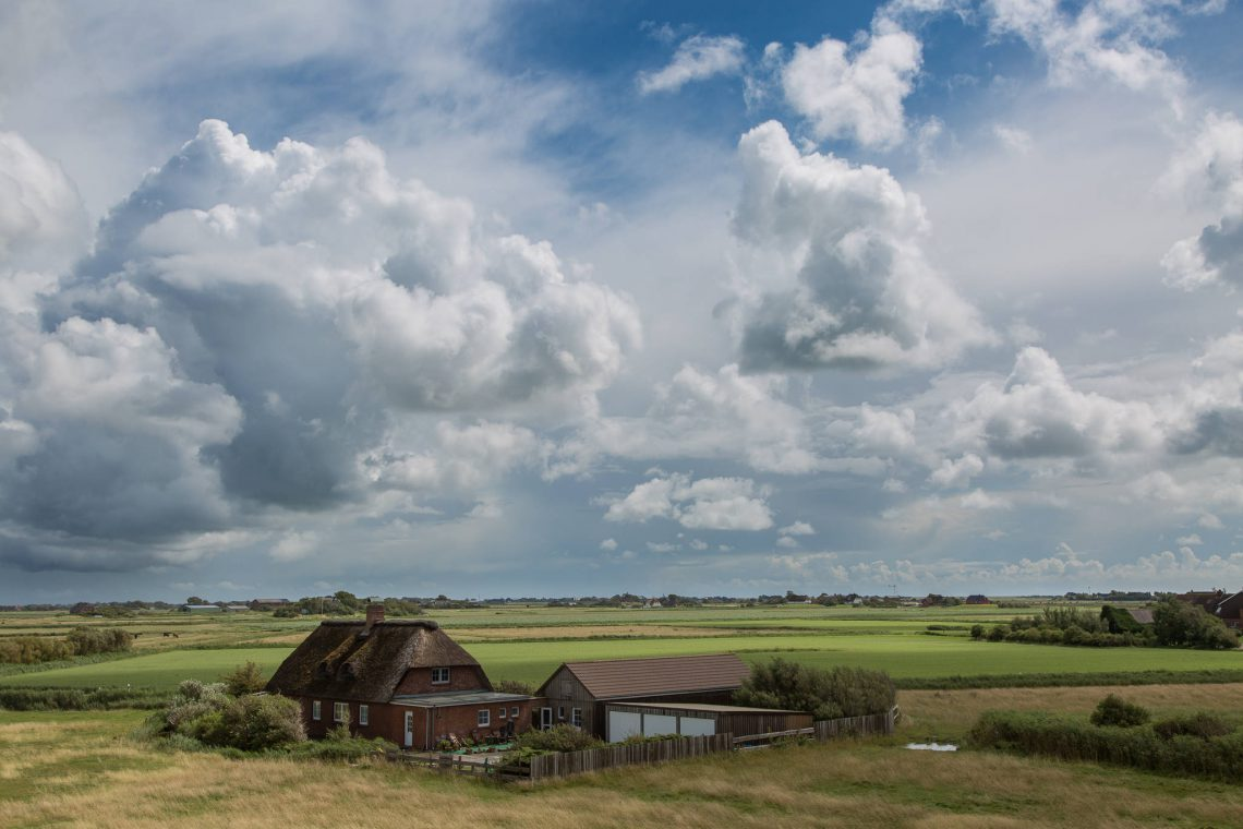 Clouds over the Kleinen Koog