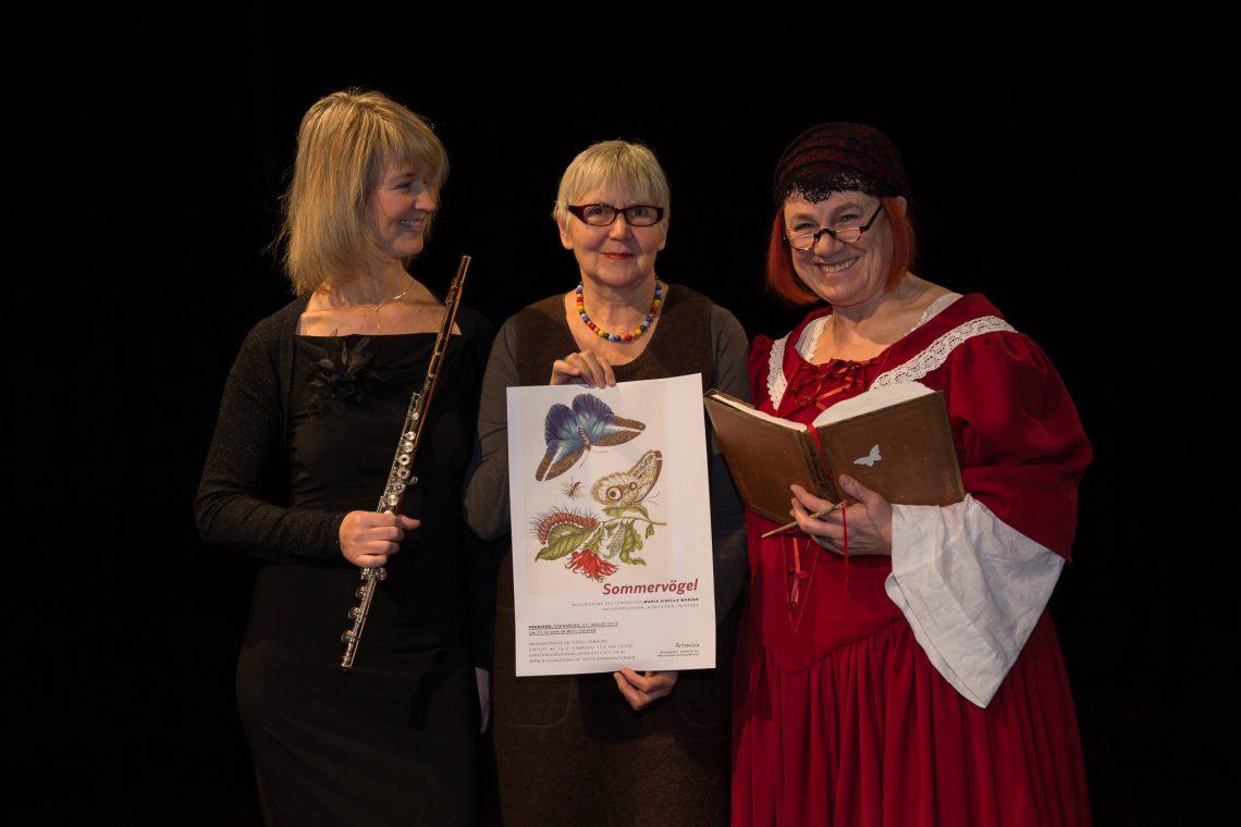 Sommervögel - Angelika, Waltraut und Viktoria